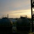 Hořlavý západ slunce I.