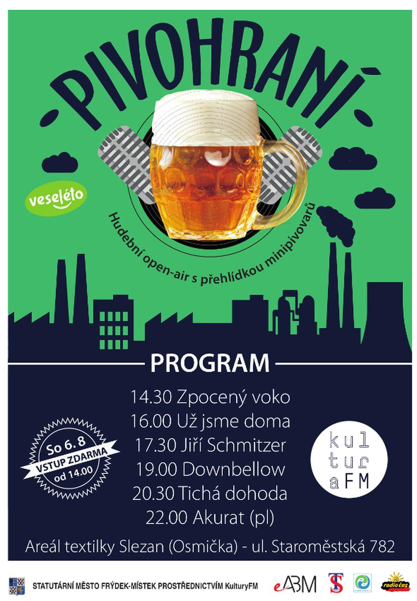 Pivohrani - plakát